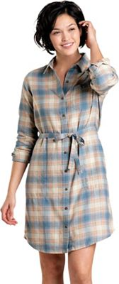 Toad & Co Women's Re-Form Flannel Shirt Dress