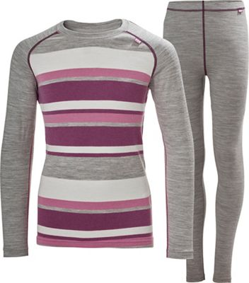 Helly Hansen Juniors' Merino Mid Set