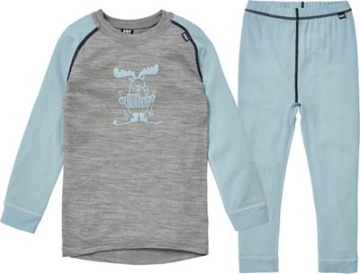 Helly Hansen Kids' Merino Mid Set