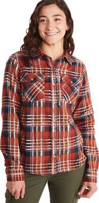 Marmot Women's Bridget Midweight LS Flannel Shirt