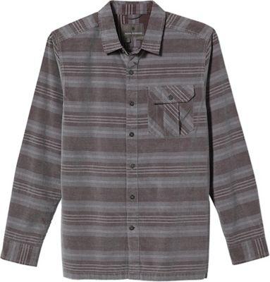 Royal Robbins Men's Covert Cord Organic Cotton Stripe LS
