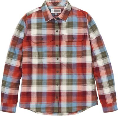 ExOfficio Women's BugsAway Redding Midweight Flannel LS Shirt
