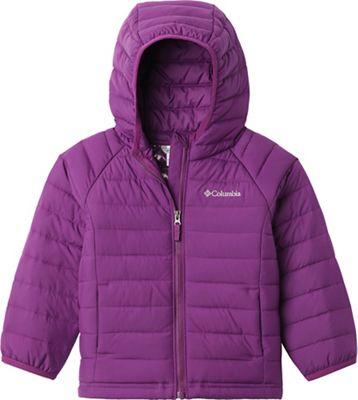 Columbia Toddlers' Girls Powder Lite Hooded Jacket