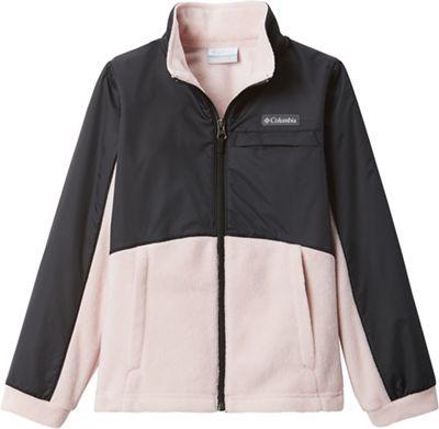 Columbia Girls' Benton Springs III Overlay Fleece Jacket