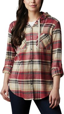 Columbia Women's Anytime Stretch Hooded LS Shirt