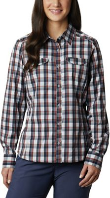 Columbia Women's Silver Ridge Lite Plaid LS Shirt