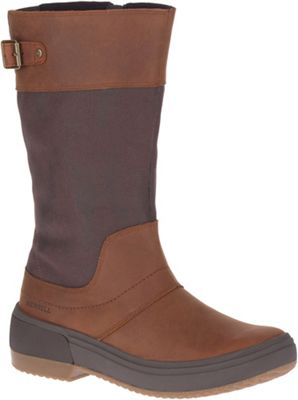 Merrell Women's Haven Tall Buckle Waterproof Boot