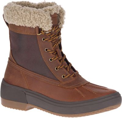 Merrell Women's Haven Mid Lace Polar Waterproof Boot