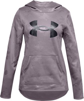 Under Armour Girls' Armour Fleece Big Logo Texture Hoodie