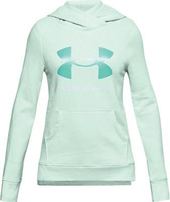 Under Armour Girls' UA Rival Fleece Logo Hoodie