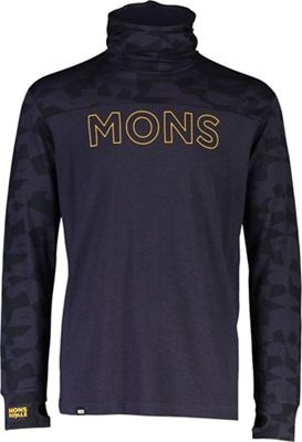 Mons Royale Men's Yotei Powder Hood LS Top