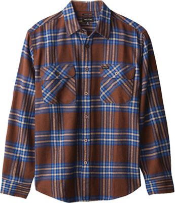 Brixton Men's Bowery L/S X Flannel Shirt