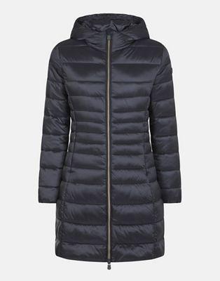 Save The Duck Women's Iris Hooded Long Coat