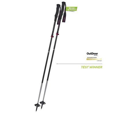 Komperdell Carbon FXP4 Compact Vario Ski Pole