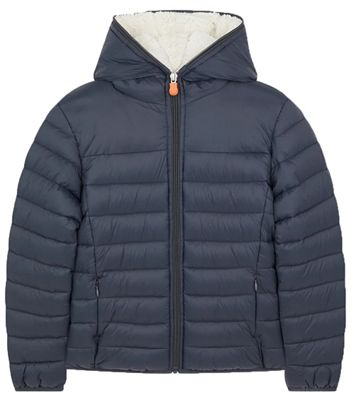 Save The Duck Boy's Giga Sherpa Jacket
