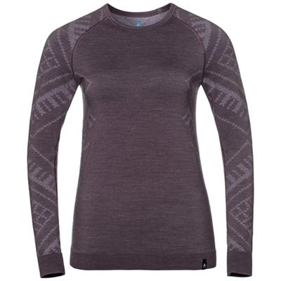 Odlo Women's Natural + Kinship SUW LS Crew Top