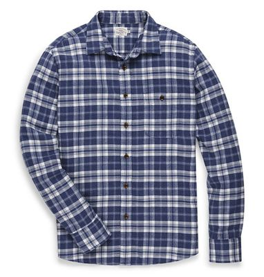 Faherty Men's Stretch Seaview Flannel Shirt