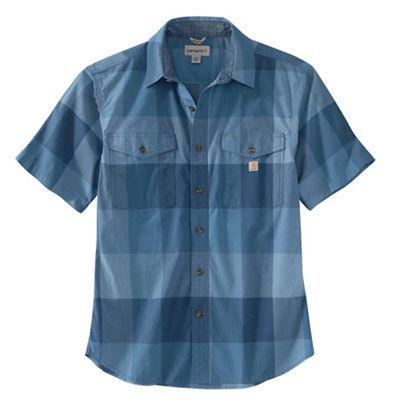 Carhartt Men's Rugged Flex Relaxed Fit Lightweight SS Plaid Shirt