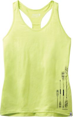 Smartwool Women's Merino Sport 150 Paddle and Oars Graphic Tank