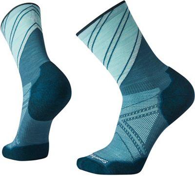 Smartwool Men's PhD Run Light Elite Pattern Crew Sock