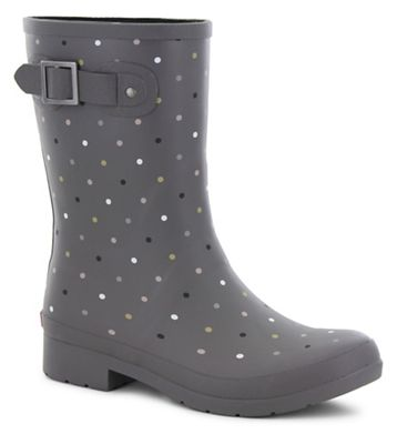 Chooka Women's Downpour Dot Mid Boot