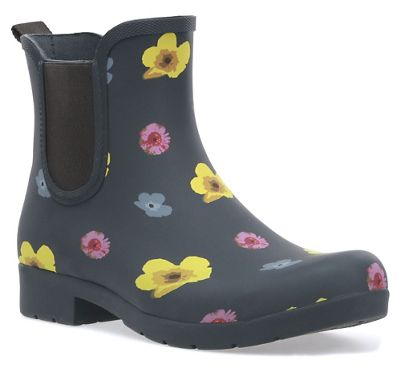 Chooka Women's Pressed Flowers East Lake Chelsea Boot