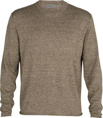 Icebreaker Men's Flaxen LS Crewe Sweater