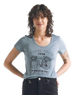 Icebreaker Women's Tech Lite SS Scoop Tour Club 1995 Tee