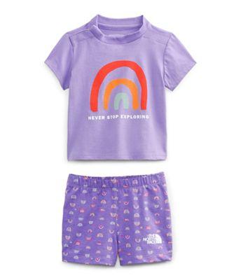 The North Face Infant Cotton Summer Set
