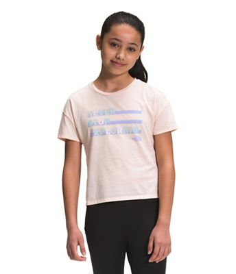 The North Face Girls' On Mountain SS Tee