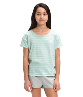 The North Face Girls' Tri-Blend SS Tee