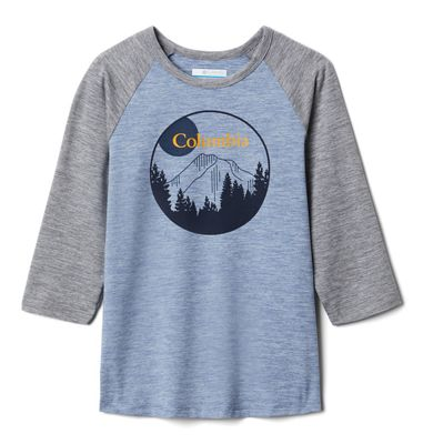 Columbia Youth Outdoor Elements3/4 Sleeve Shirt