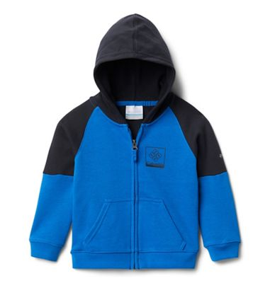 Columbia Toddler Boys' Branded French Terry Full Zip Hoody