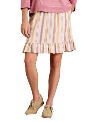 Toad & Co Women's Taj Hemp Ruffle Skirt