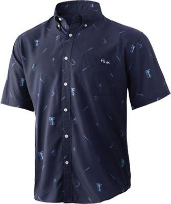 Huk Men's Big Shrimpin' Teaser Shirt