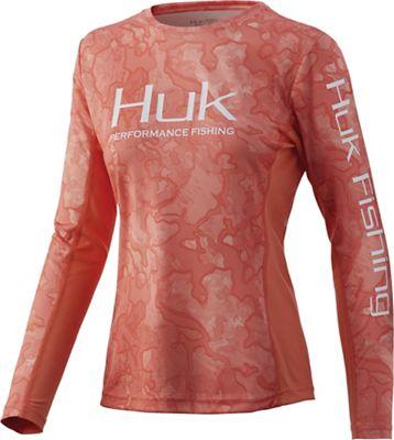 Huk Women's Icon X LS Camo Top