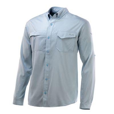 Huk Men's Tide Point Woven LS Shirt