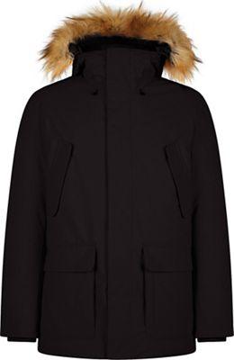 Save The Duck Men's Smeg Hooded Parka w/ Foldable Hood