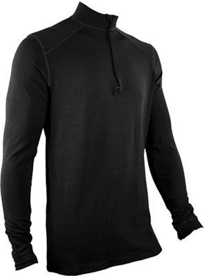 Polarmax Men's Stretch3 Super Mid-Weight Crew Zip Mock Sweater