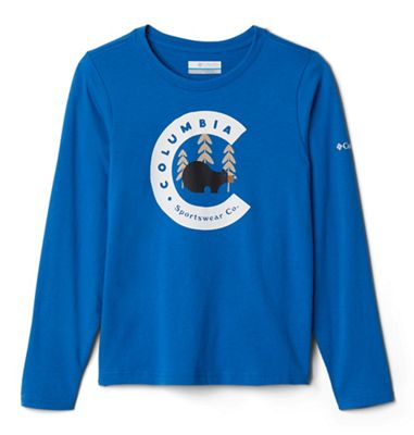 Columbia Toddler Boys' Dobson Pass LS Graphic Tee