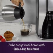 Mr. Coffee® Stainless Steel 10 Cup  Programmable Coffee Maker image number 5
