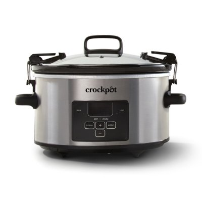 Crockpot™ 4-Quart Cook & Carry Slow Cooker, Programmable Slow Cooker