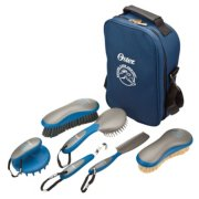 Oster® Equine Care Series™ 7-Piece Grooming Kit - Blue image number 0