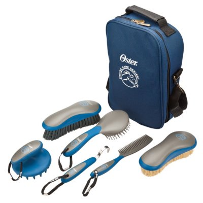 Oster® Equine Care Series™ 7-Piece Grooming Kit - Blue