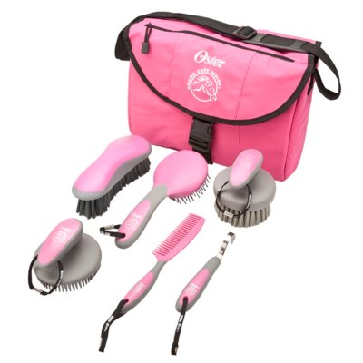 Oster® Equine Care Series™ 7-Piece Grooming Kit - Pink