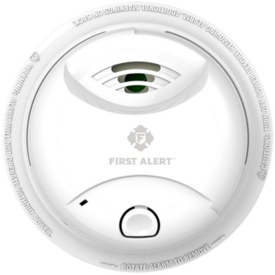 Sealed Ionization Smoke Alarm with 10-Year Lithium Battery