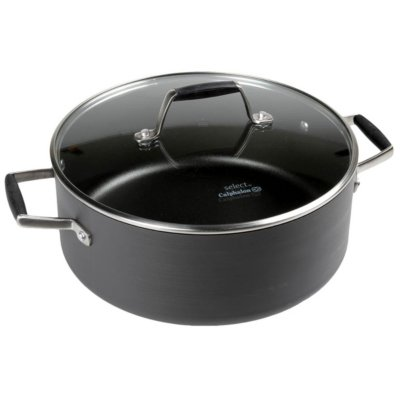 Select by Calphalon™ Hard-Anodized Nonstick 5-Quart Dutch Oven with Cover