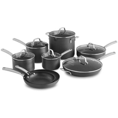 Calphalon Classic™ Hard-Anodized Nonstick 14-Piece Cookware Set