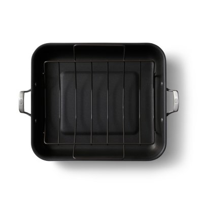 Calphalon Premier™ Hard-Anodized Nonstick 16-Inch Roaster with Rack