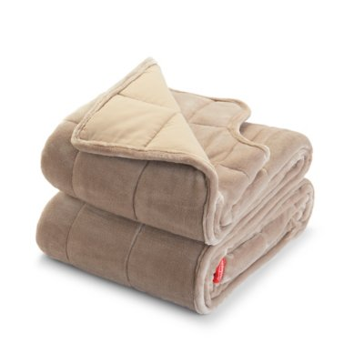 Weighted Blanket with Arm Slits and Neck Cutout